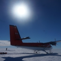 Twin Otter's looking mighty fine this morning.