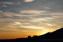 Beautiful Nacreous clouds